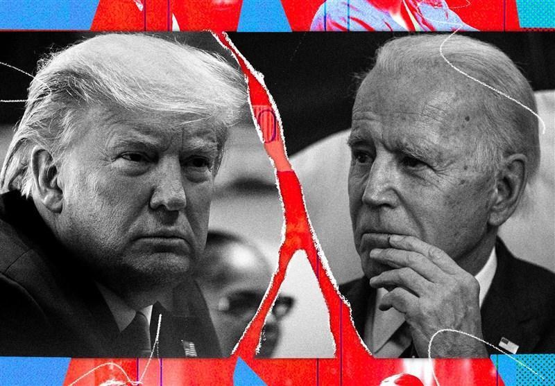 گزارش، مفاهیمی که در درون نظرسنجی ها درباره ترامپ و بایدن پنهان است