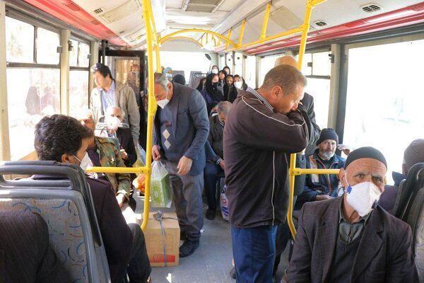 تغییر ساعت کاری مترو و اتوبوس در مشهد