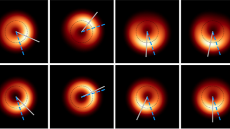 اولین سیاهچاله به تصویر کشیده شده می جنبد!