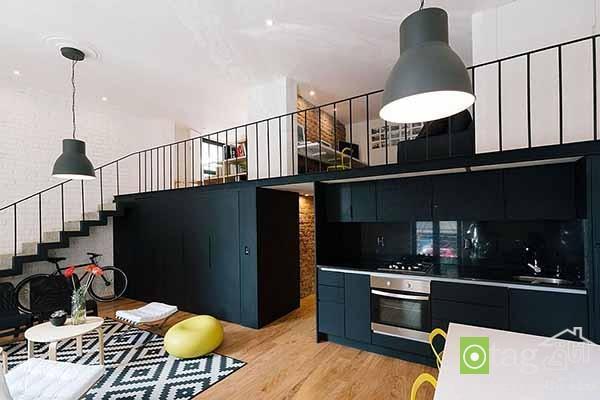 آنالیز دکوراسیون خانه آپارتمانی شیک با سبک طراحی امروزی