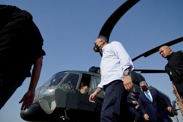 سفر الکاظمی و مقامات ارشد عراقی به صلاح الدین