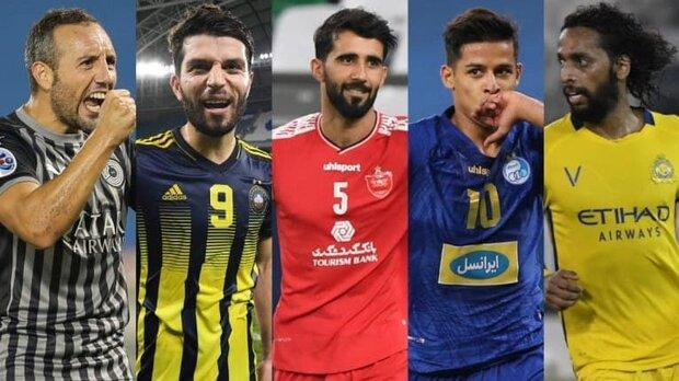 دوپرسپولیسی و یک استقلالی کاندیدای بهترین هافبک لیگ قهرمانان آسیا