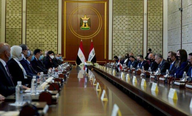 عراق و مصر با حضور نخست وزیران 2 کشور 15 یادداشت تفاهم امضا کردند