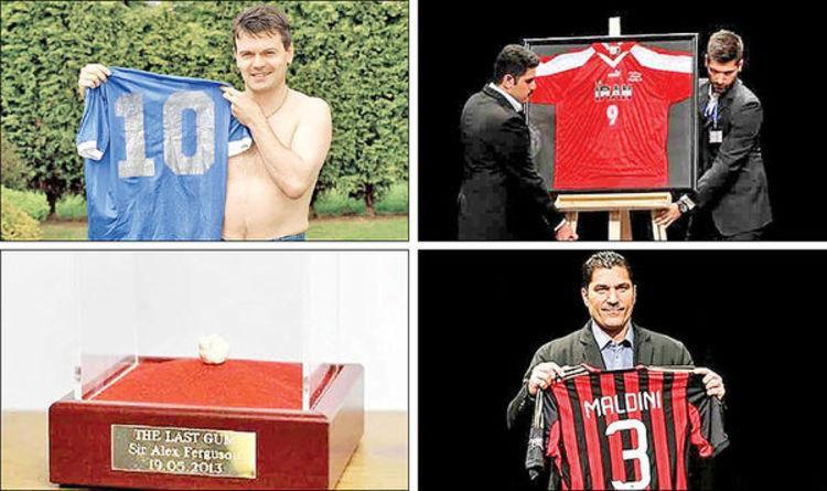 (تصویر) گران ترین پیراهن دنیای فوتبال در دست کیست؟