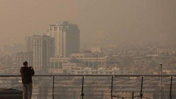 هوای تهران در شرایط قرمز