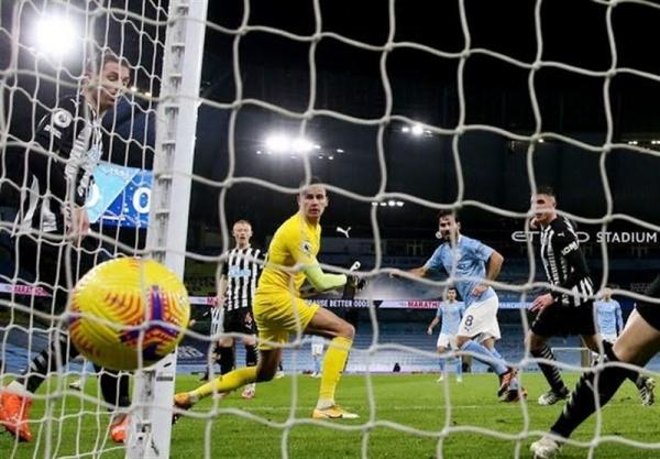 لیگ برتر انگلیس، منچسترسیتی آخرین بازی خانگی اش در سال 2020 را برد، صعود اورتون به رده دوم جدول