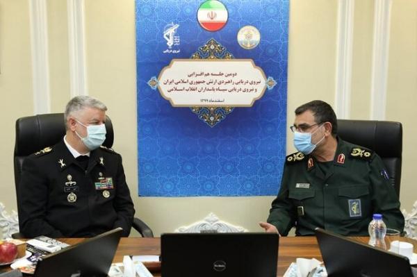 حضور مقتدرانه نیروهای دریایی ارتش و سپاه، موجب امنیت در خیلج فارس است