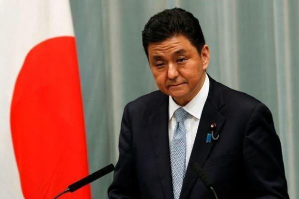 وزیر دفاع ژاپن: با آستین درباره فعالیت های چین صحبت می کنم