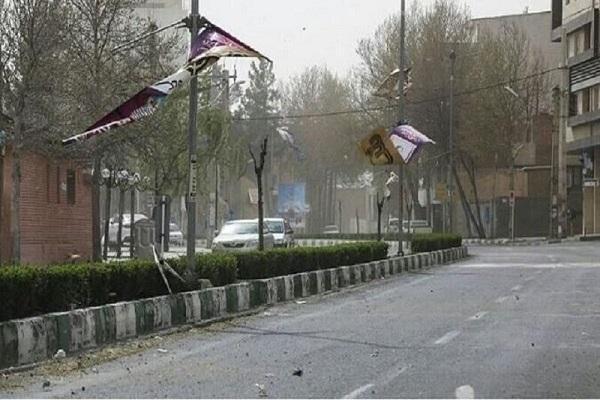 پیش بینی وزش باد شدید و رگبار در استان تهران