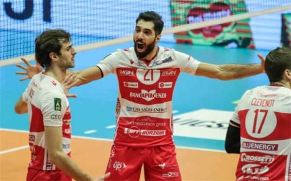 پیاچنزا با ستاره ایرانی به نیمه نهایی رسید