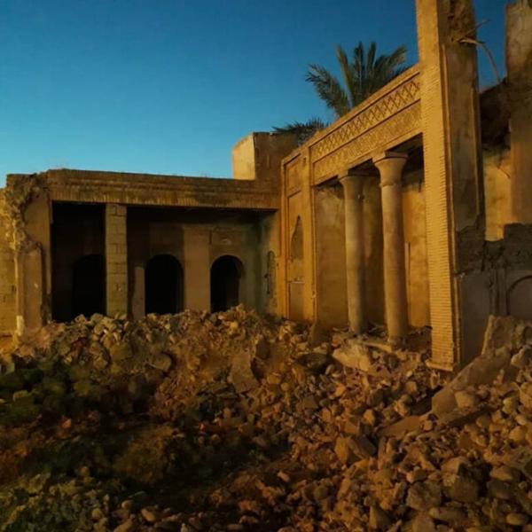 توضیحی درباره خبر تخریب یک بنای تاریخی در بهبهان