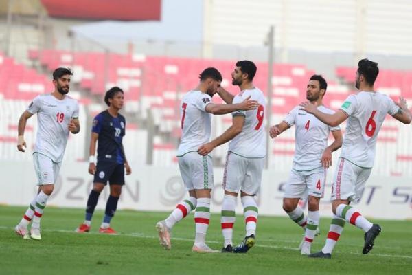 ایران 10 - کامبوج صفر، توپ پر تیم ملی برای بازی حساس با عراق