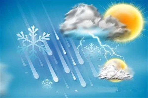 ادامه فعالیت سامانه بارشی در بیشتر مناطق