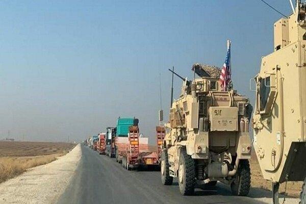 حمله به کاروان لجستیک آمریکا در الانبار عراق