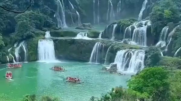 دتیان، پهن ترین آبشار آسیا