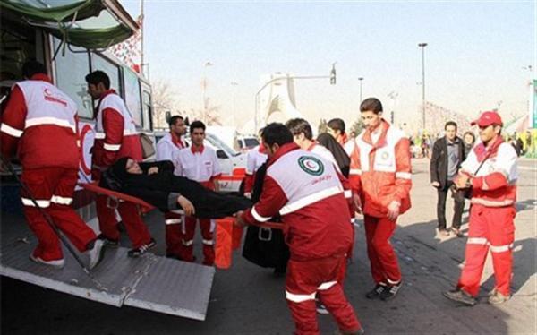 امدادرسانی به 353 نفر در حوادث 72 ساعت گذشته