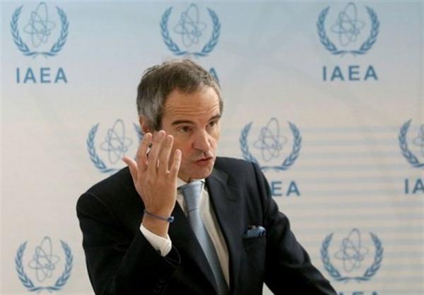 گروسی: امیدواریم به وسیله مصاحبه با ایران مسائل مورد اختلاف حل و فصل گردد