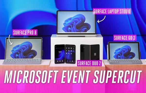 7 رونمایی عظیم در رویداد سرفیس مایکروسافت